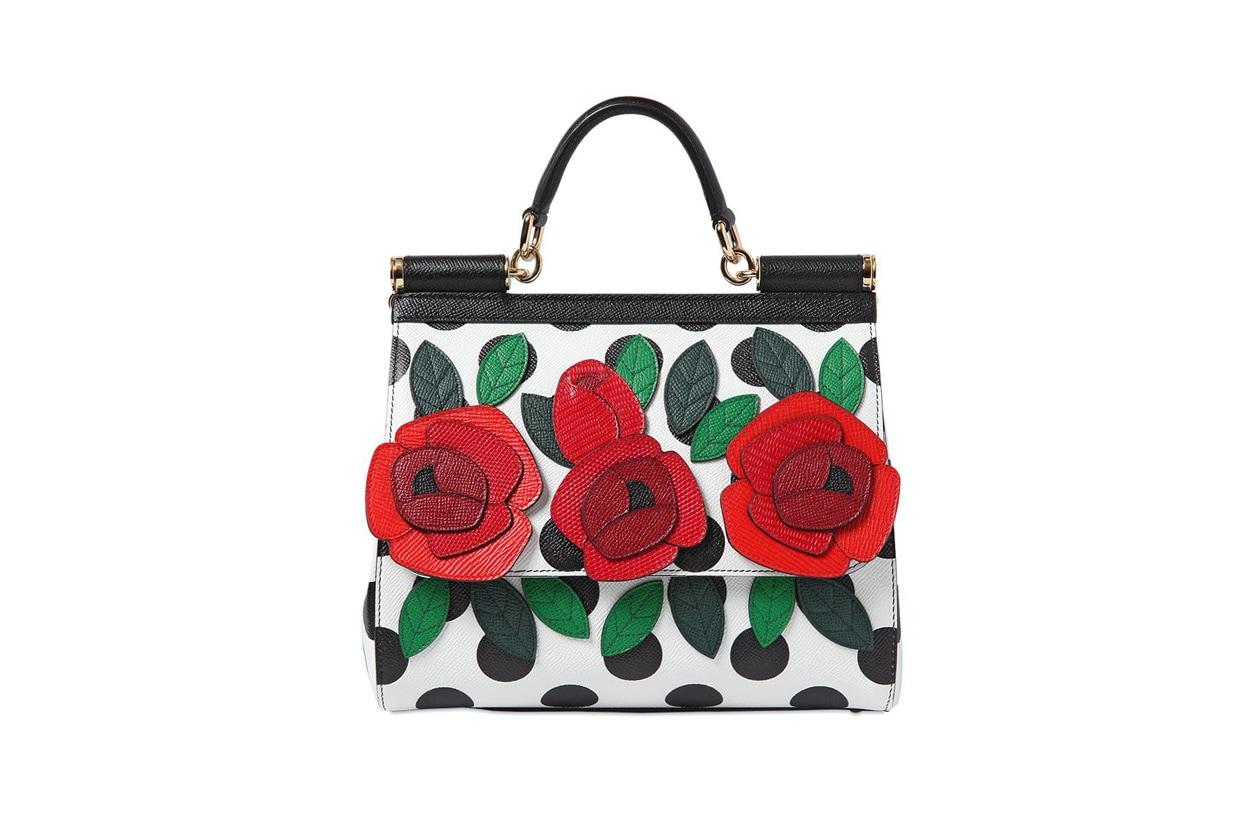 borse a fiori: dolce&gabbana