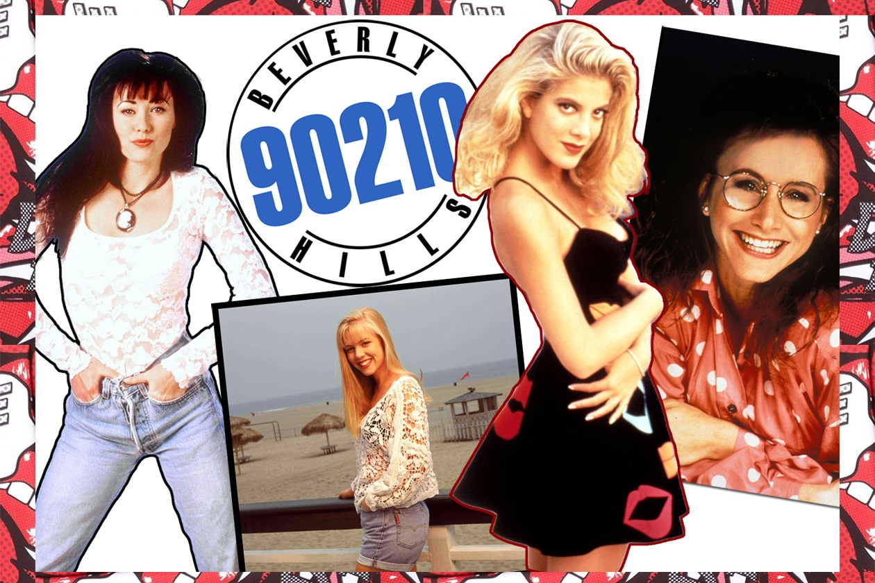 il look delle protagoniste di BEVERLY HILLS 90210