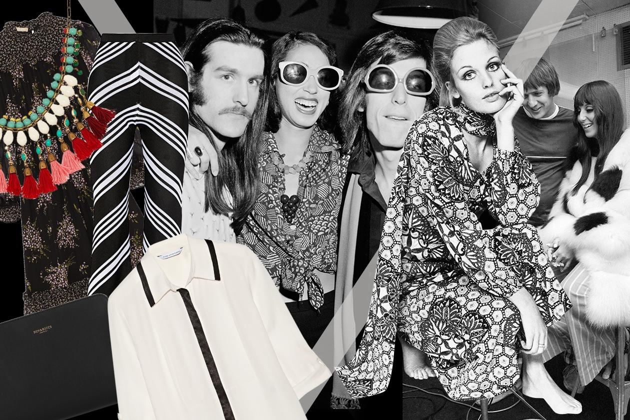 Icone moda negli anni 70 ispirazione di oggi for Arredamento stile anni 70