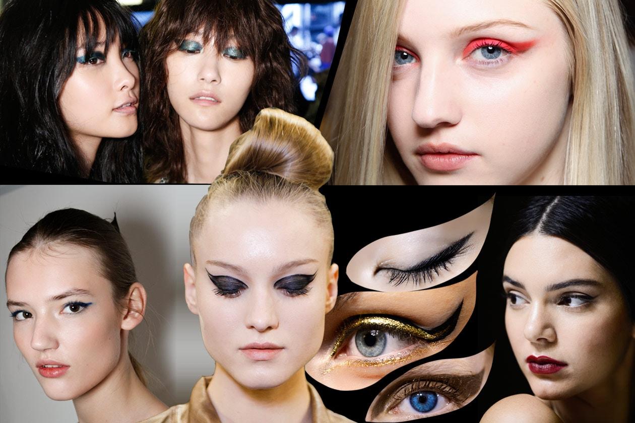 Trucco occhi con eyeliner: le tendenze Primavera/Estate 2015