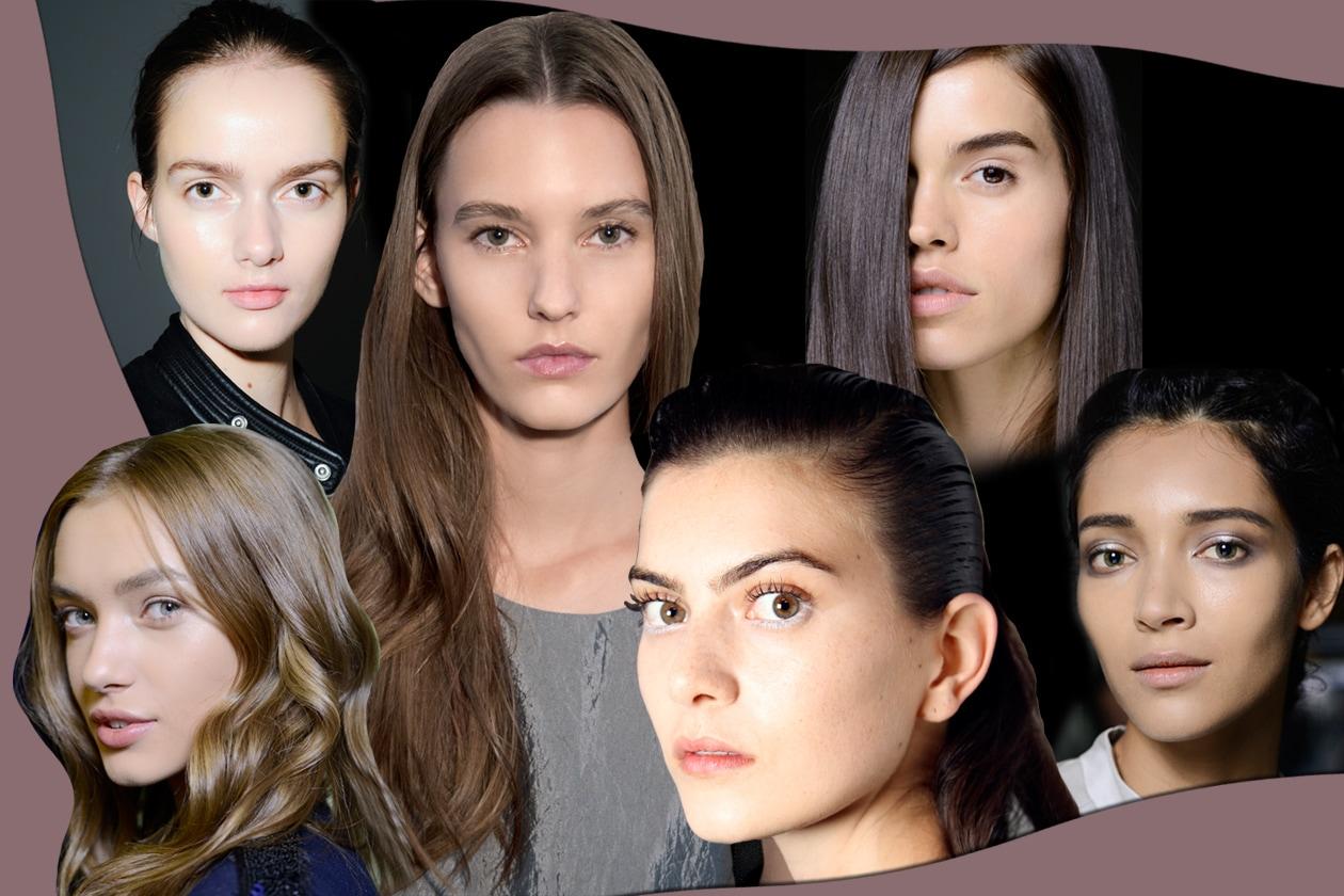 Trucco viso: incarnato opaco, sheer, glowy e scolpito di tendenza per la P/E 2015