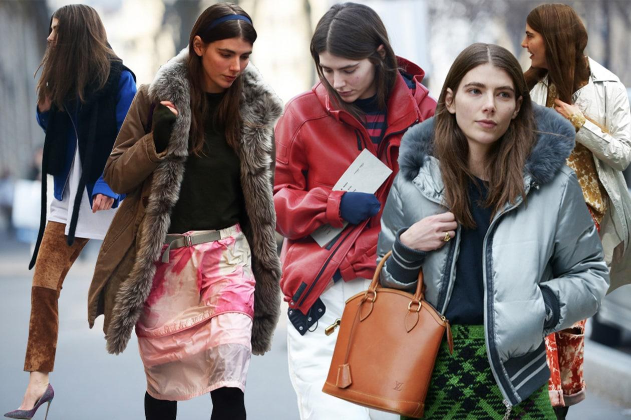 I look di Ursina Gysi, style crush dalla Paris Fashion Week