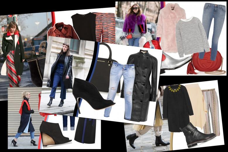 Stivaletto e pantalone alla caviglia: nuova tendenza dallo street style