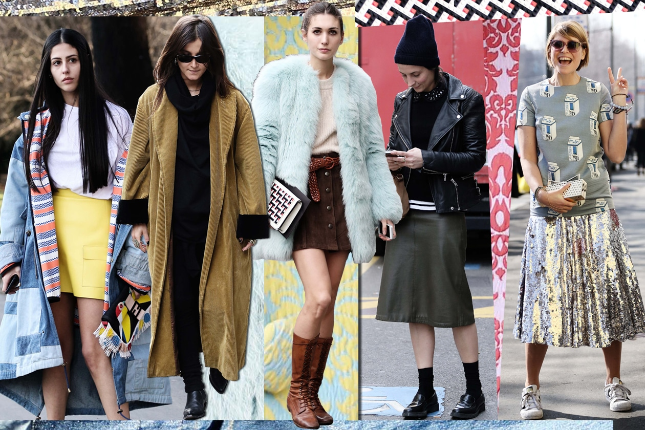Tutti i look delle nostre it-girls alla Milano Fashion Week