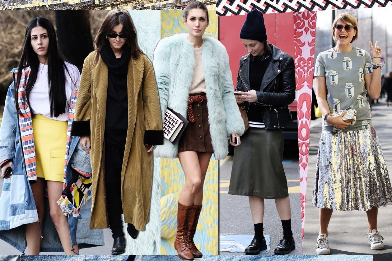 Tutti i look delle nostre it-girls alla Milano Fashion Week