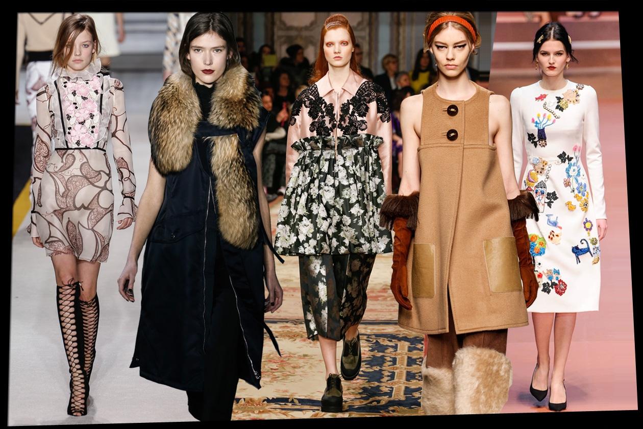Trend: la preview delle tendenze Autunno-Inverno 2015