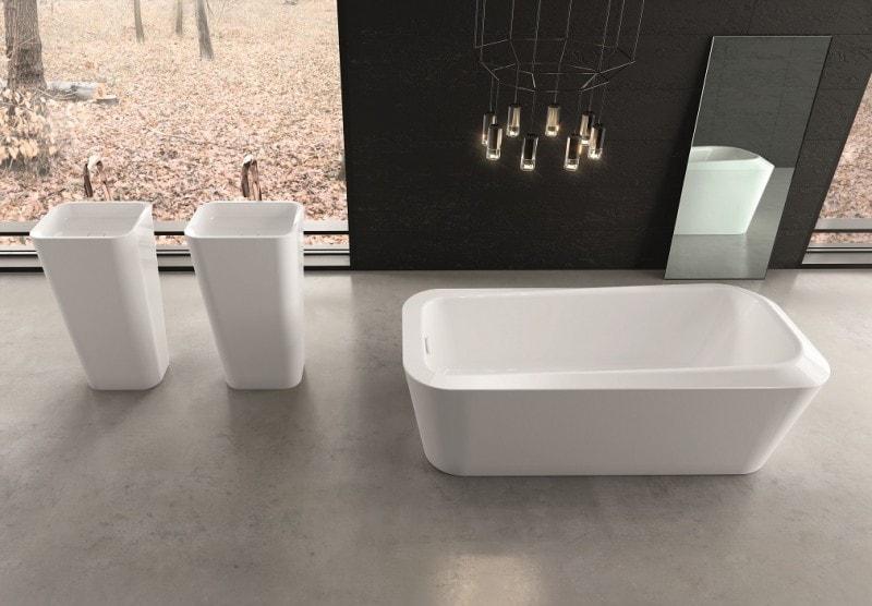 La vasca da bagno Meisterstück Emerso di Kaldewei