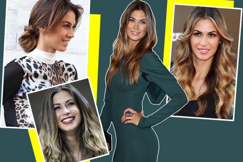 Melissa Satta Capelli: dal liscio allo shatush, tutti i suoi hair look più belli