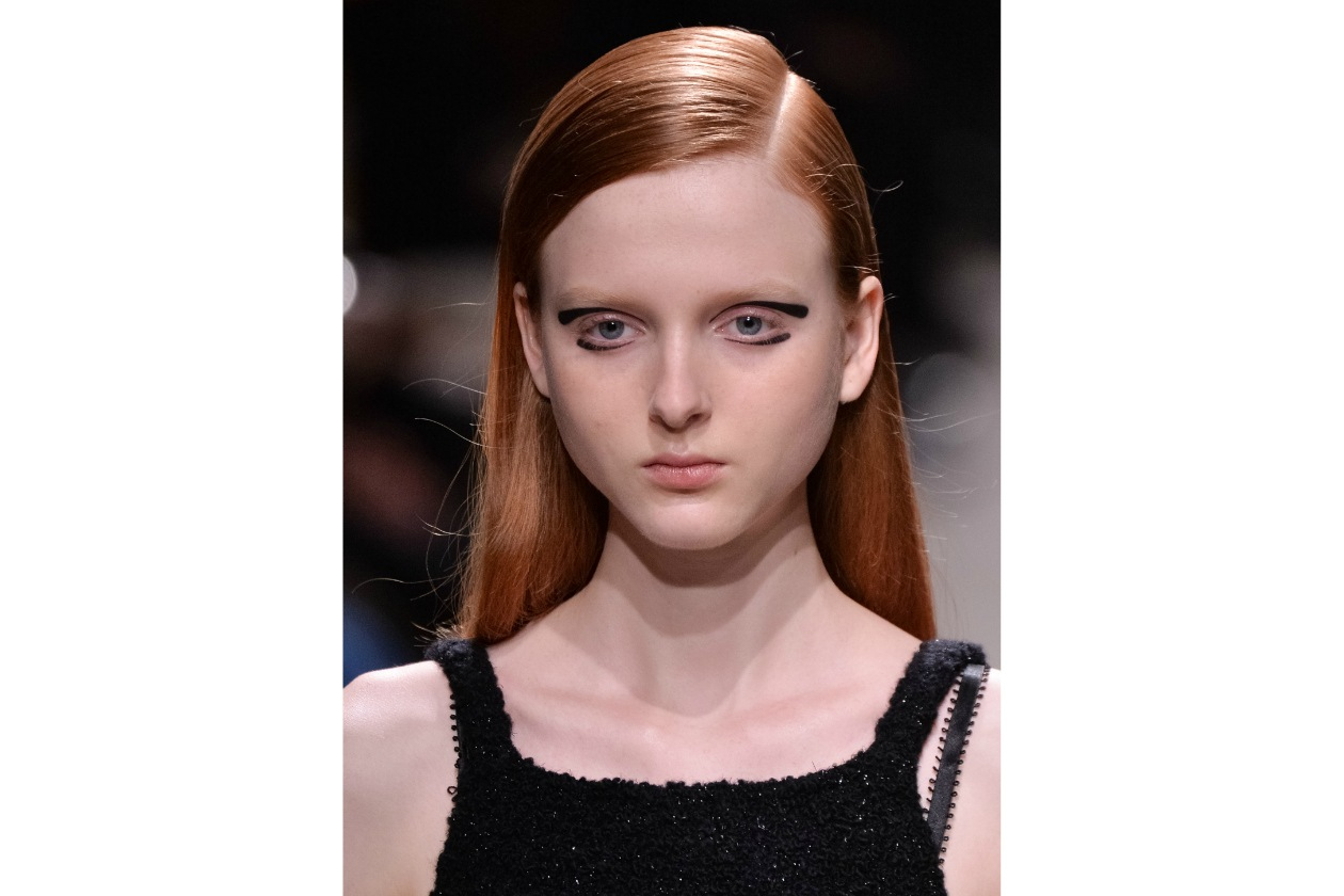 TENDENZE BEAUTY PFW AUTUNNO/INVERNO 2015-2016: REVERSE EYELINER