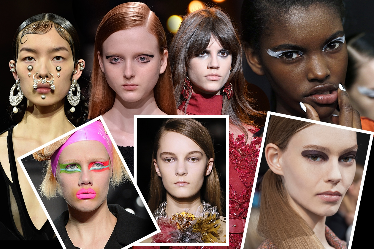 TENDENZE BEAUTY PFW AUTUNNO/INVERNO 2015-2016: TRA LOOK MINIMAL E DETTAGLI EYE-CATCHING