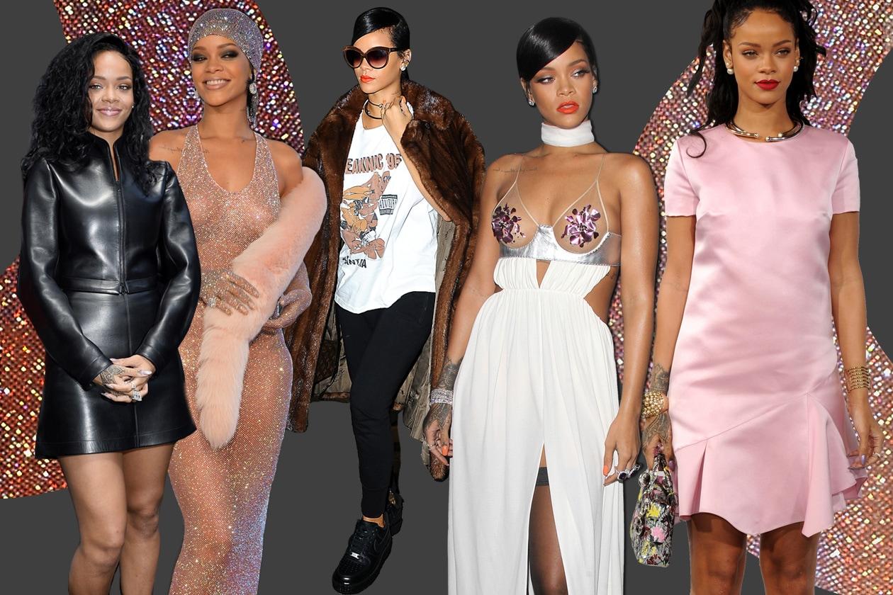 Rihanna: camaleontica fashion icon