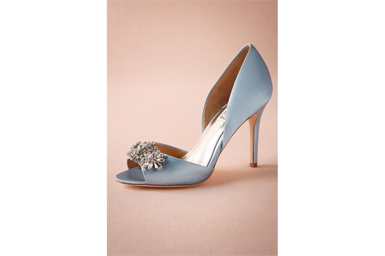 scarpe da sposa: badgley mischka