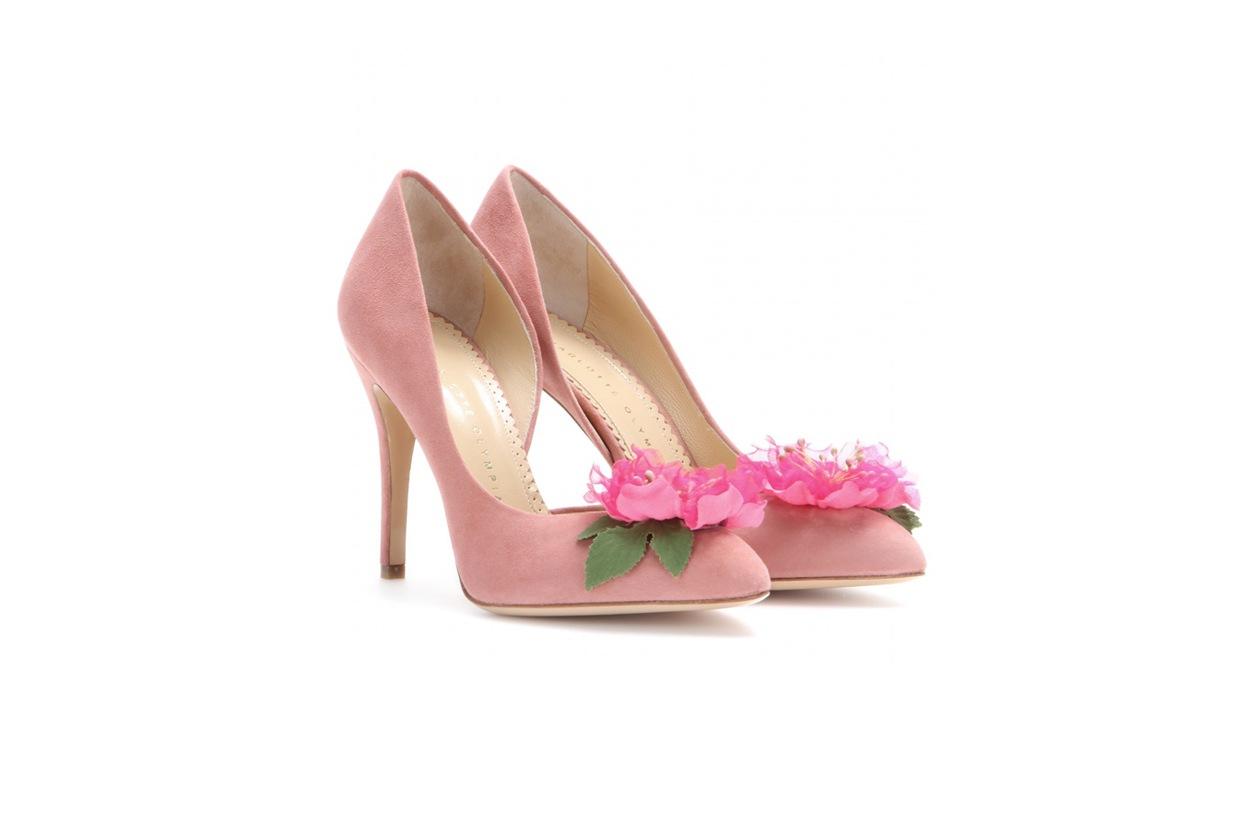 scarpe da sposa: charlotte olympia