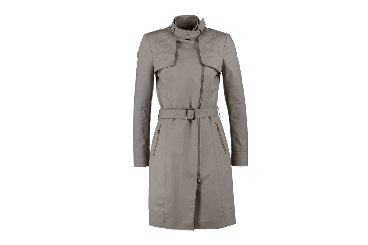 trench colorato: guess marciano