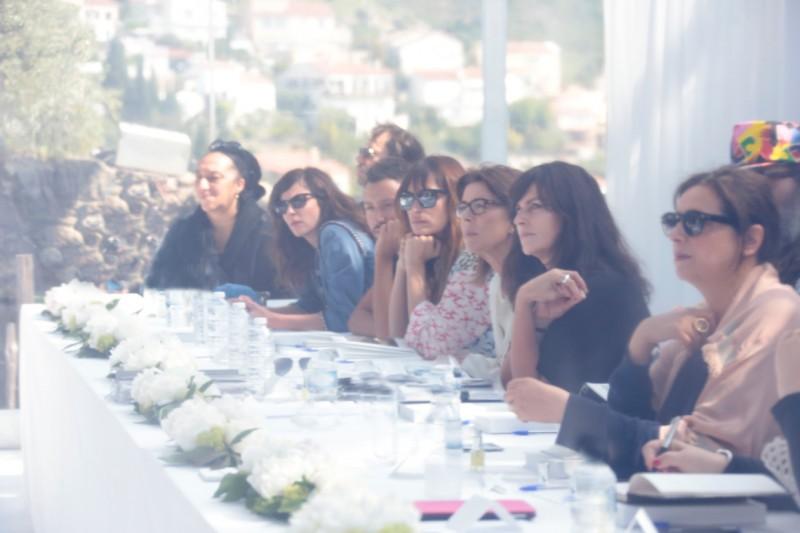 37 30th International Festival of Fashion & Photography in Hyäres Fashion jury 1