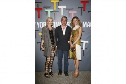 Allegra Hicks, Antonio Monfreda and Martina Mondadori Sartogo