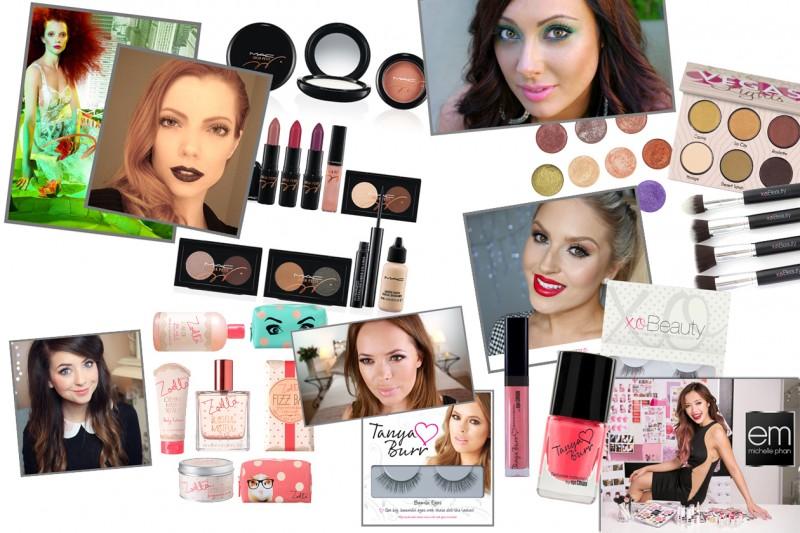 Beauty guru YouTube: le star internazionali del web e i prodotti creati da loro