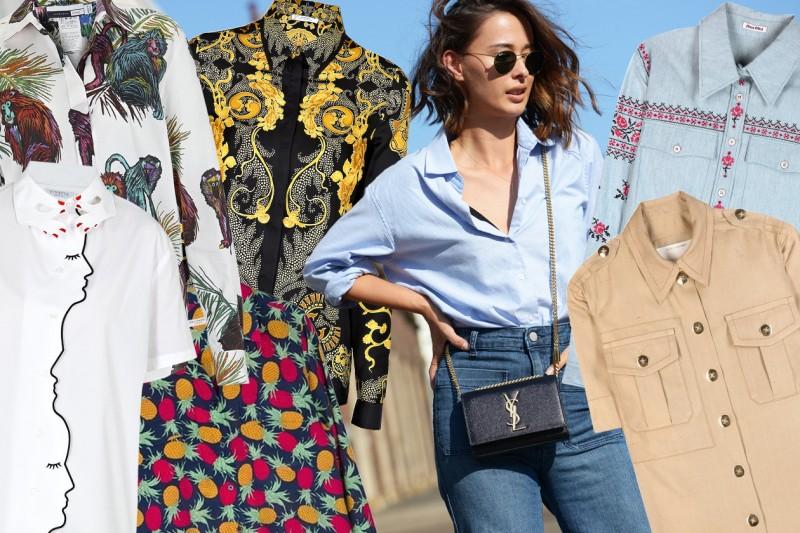 Camicie: tutte le tendenze per la Primavera-Estate 2015