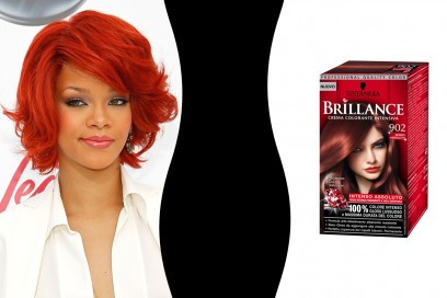 Capelli rossi: Rihanna