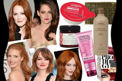 Capelli rossi: le tonalità delle star e i prodotti di haircare