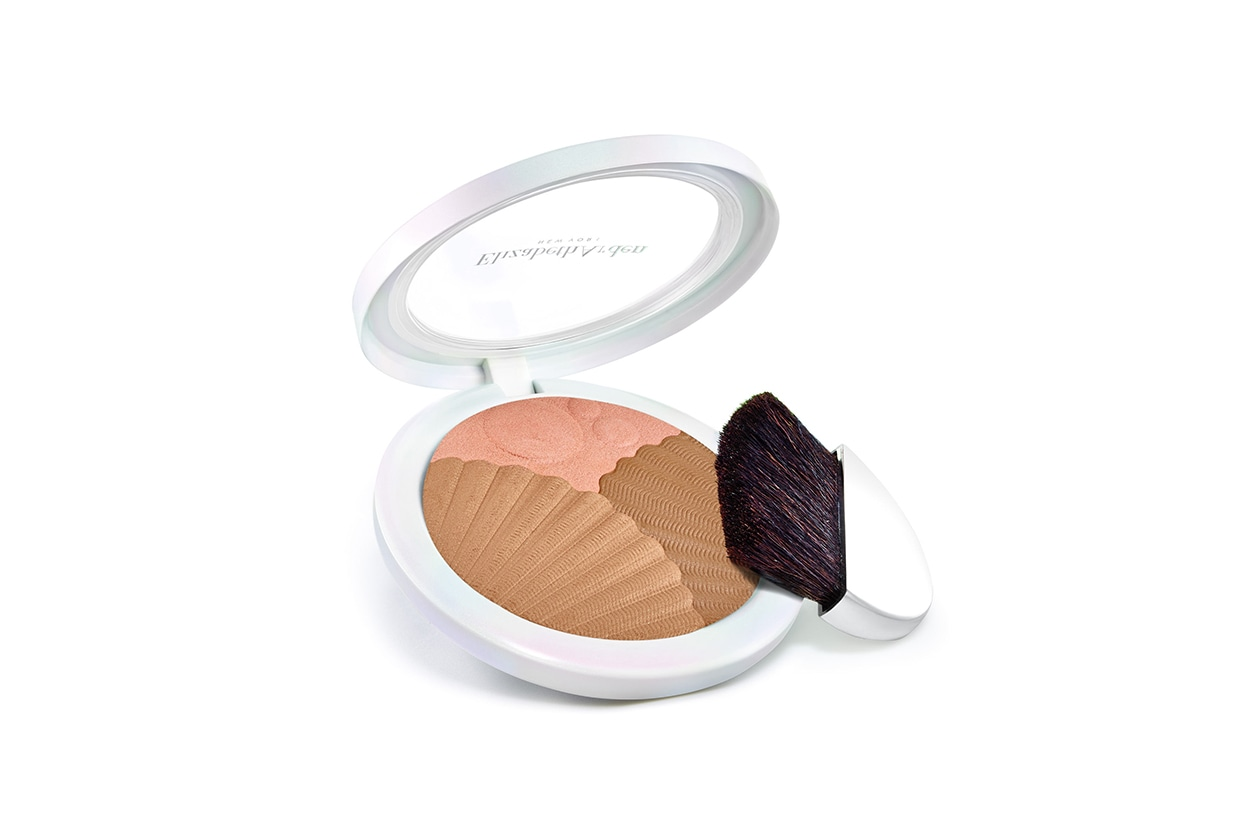 Contouring viso: Elizabeth Arden Sunkissed Pearls Bronzer and Highlighter