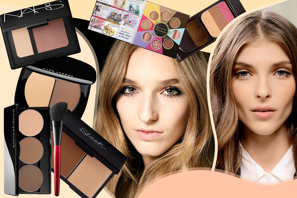 Contouring viso: le nuove palette del 2015