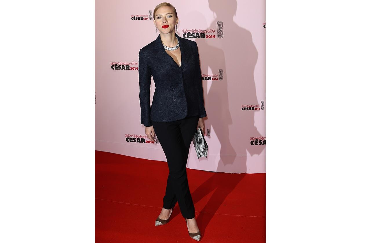 Fashion Icon Scarlett J Christian Dior