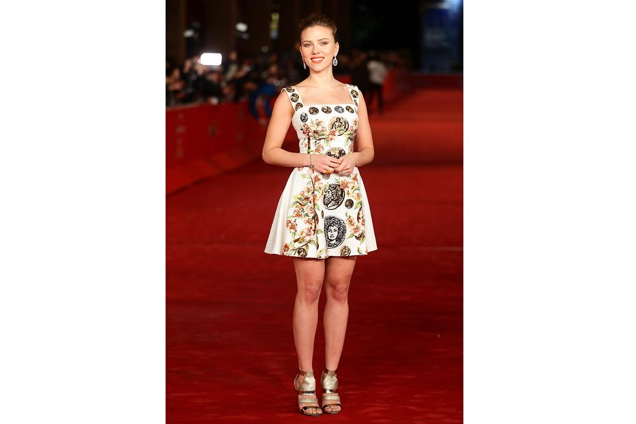 Fashion Icon Scarlett J Dolce&Gabbana