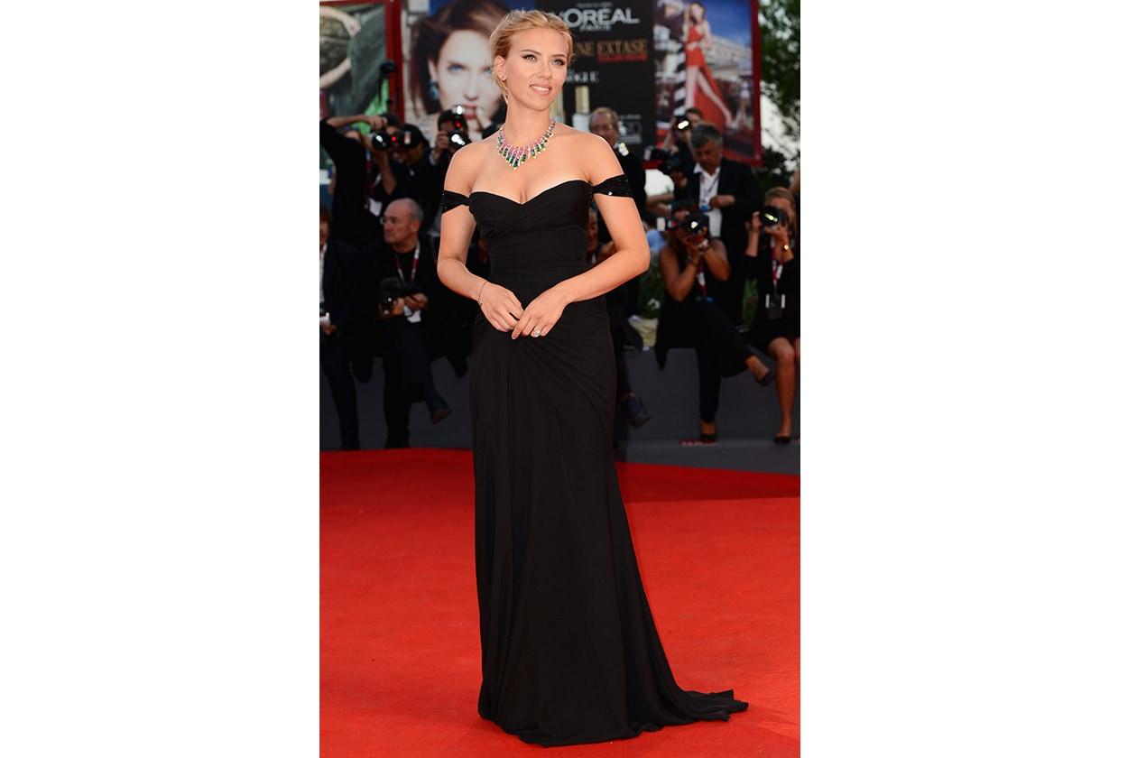 Fashion Icon Scarlett J Versace