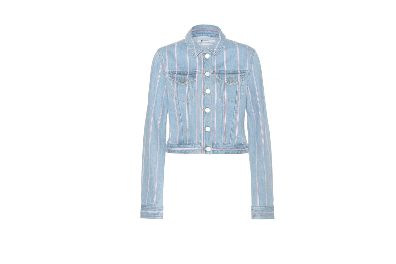 GIACCA IN JEANS: T BY ALEXANDER WANG