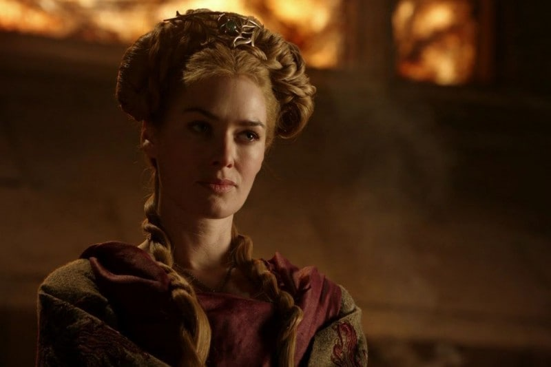 Game of Thrones hairstyle: Cersei Lannister