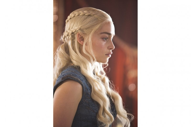 Game of Thrones hairstyle: Daenerys Targaryen