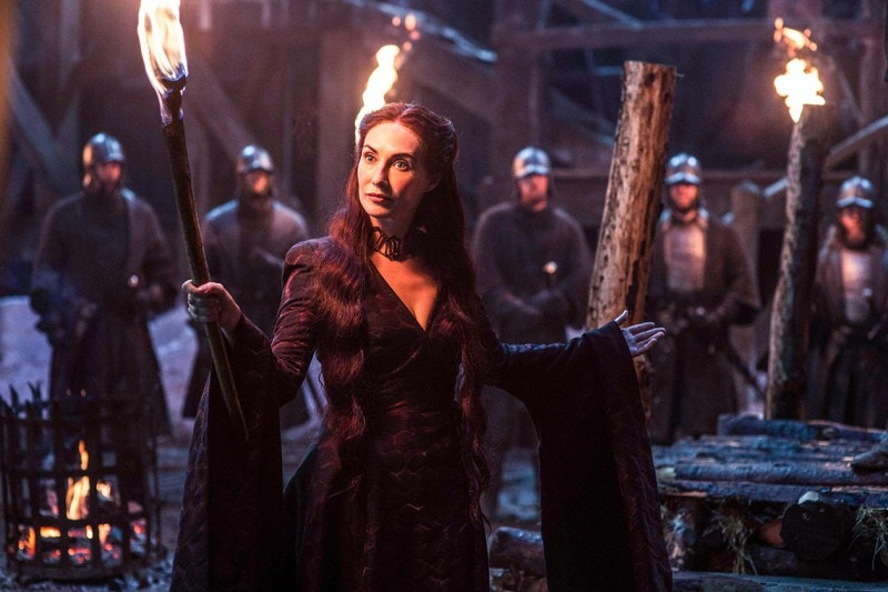 Game of Thrones hairstyle: Melisandre