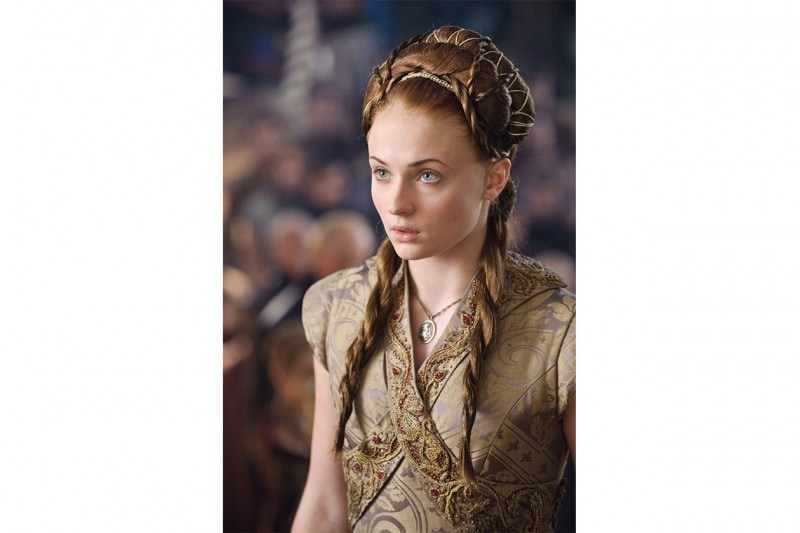 Game of Thrones hairstyle: Sansa Stark