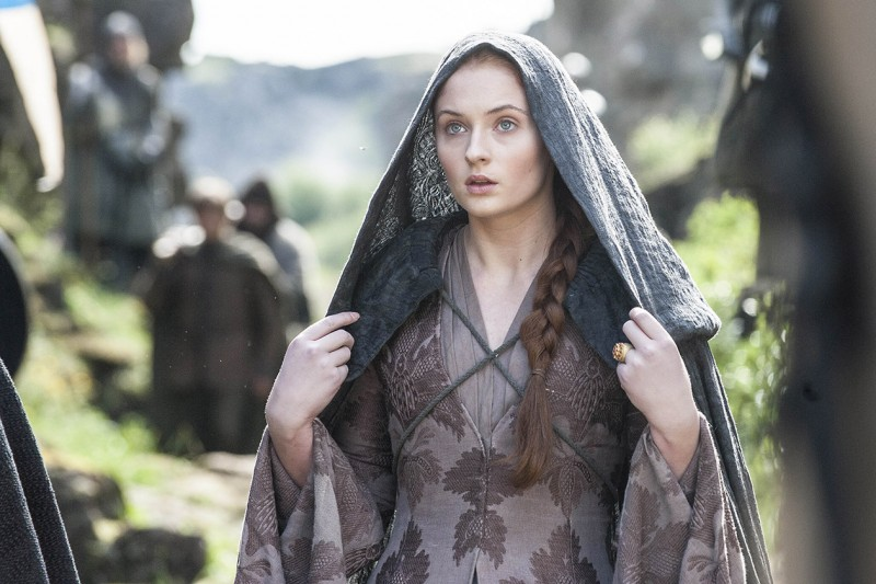 Game of Thrones hairstyle: Sansa Stark