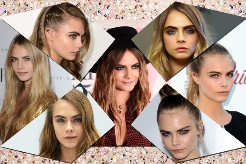I migliori hair style di Cara Delevingne. Scopriteli con la selezione di Grazia.it