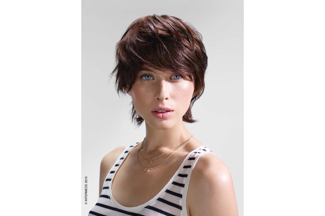 Tagli di capelli estate frangia