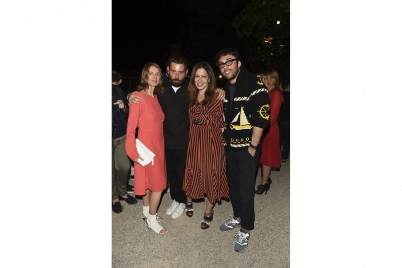 Karla Otto, Fausto Puglisi, Deborah Needleman, Lorenzo Serafini