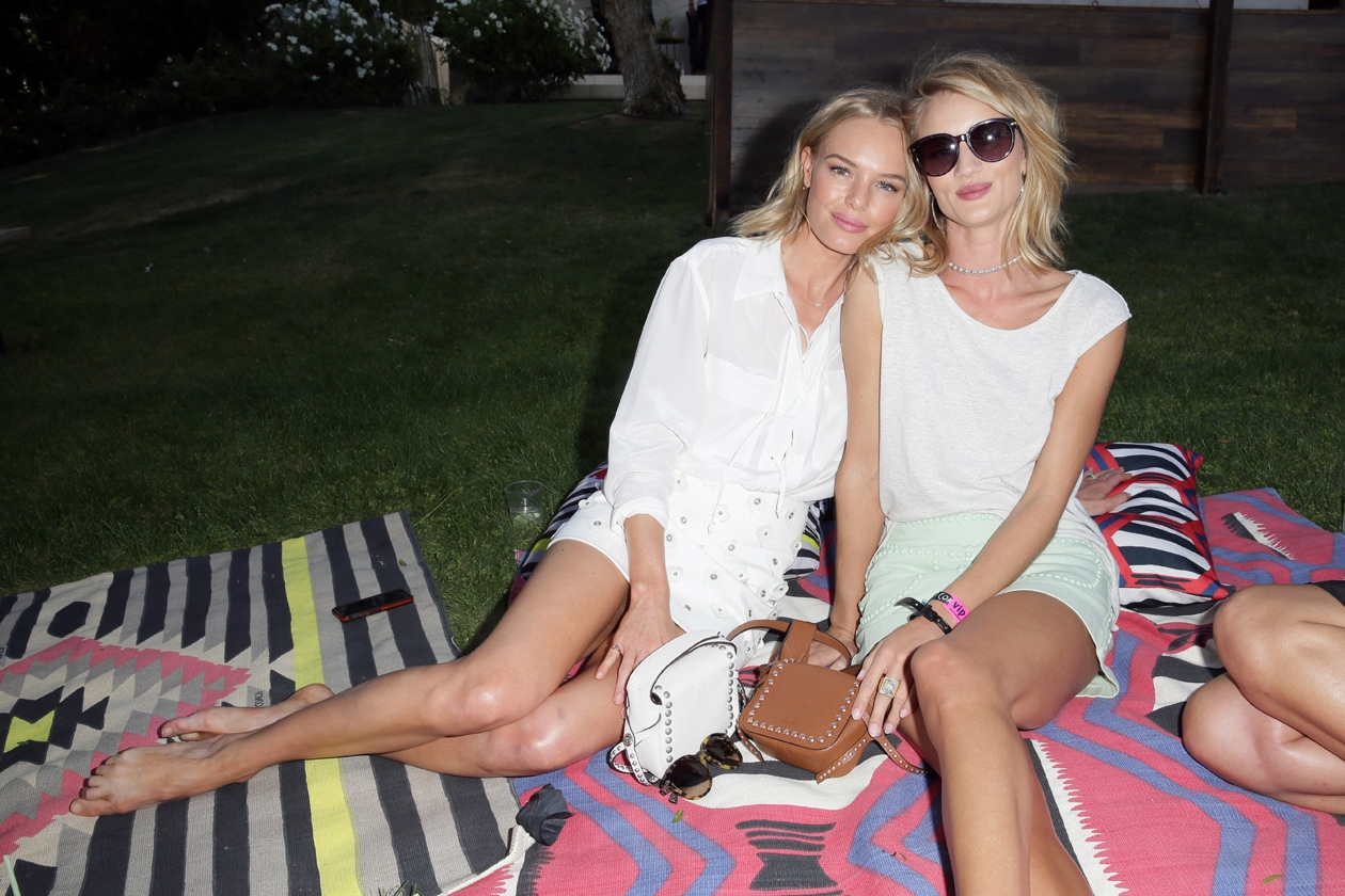 Kate Bosworth and Rosie Huntington Whiteley