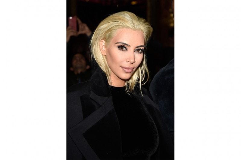 Kim Kardashian trucco: extra mascara