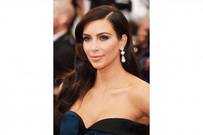 Kim Kardashian trucco: make up soft