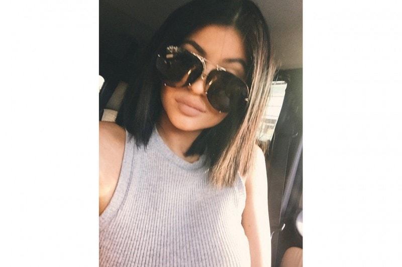 Kylie Jenner capelli: brunette long bob