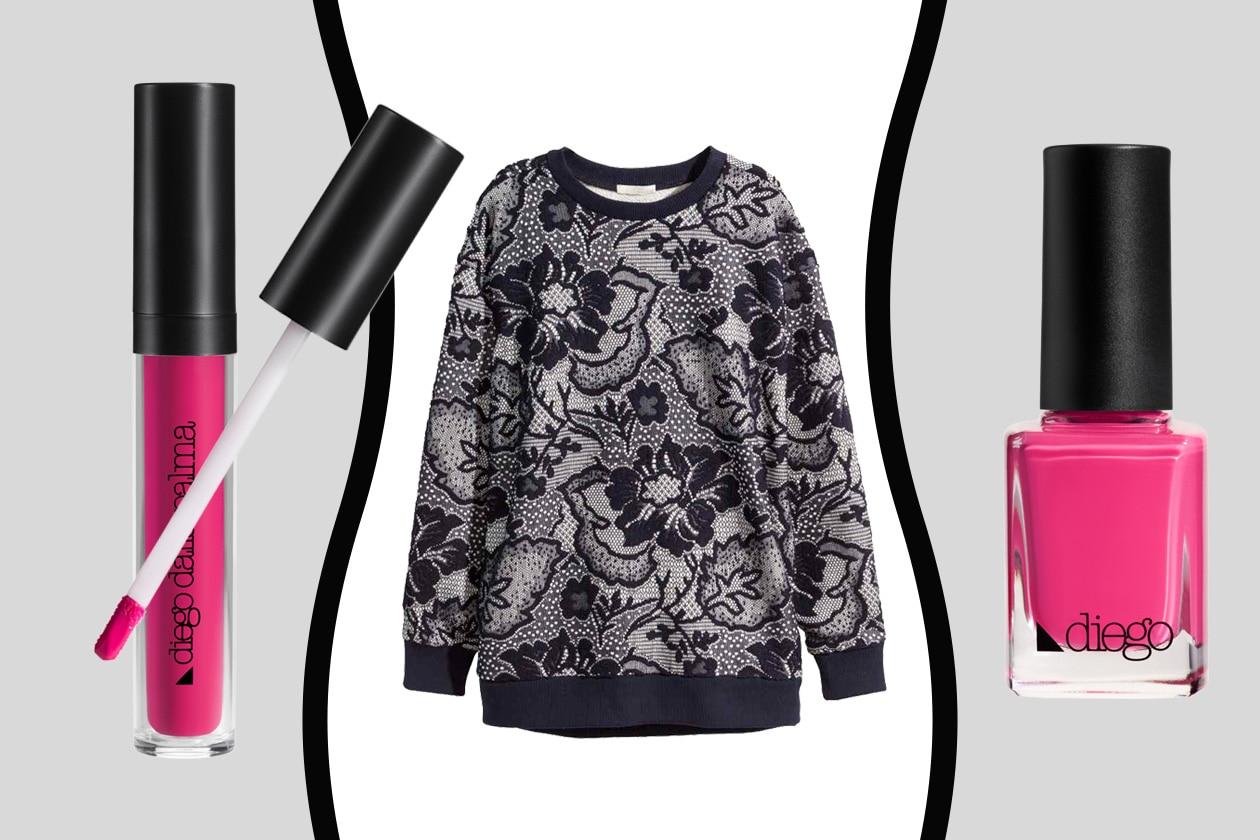 LOOK FLOREALE VINTAGE: COME TRUCCARSI – H&M