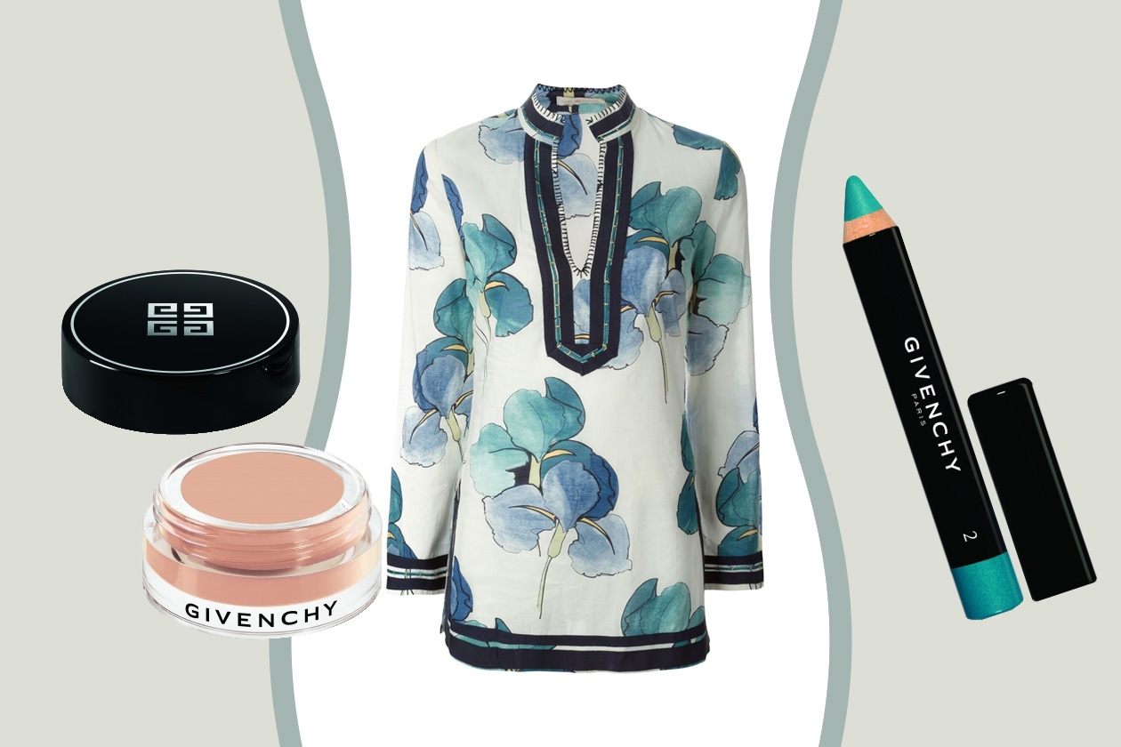 LOOK FLOREALE VINTAGE: COME TRUCCARSI – Tory Burch