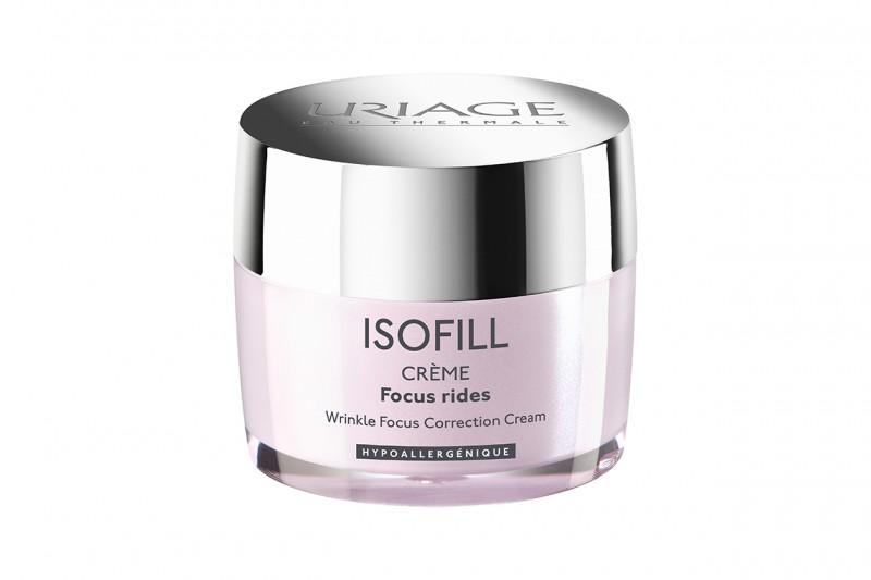 Le nuove creme antiage: Crema Focus Rughe Isofill di Uriage
