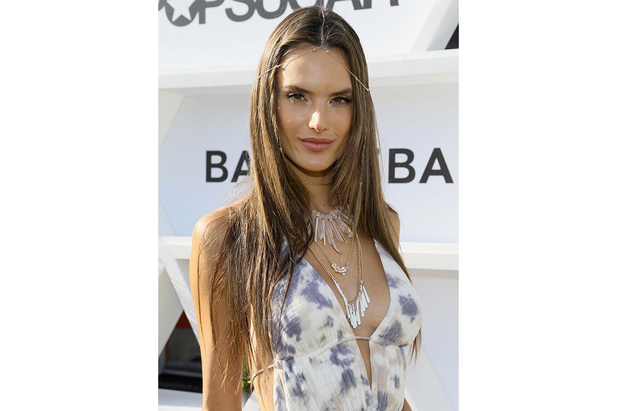 Look capelli Coachella 2015: Alessandra Ambrosio