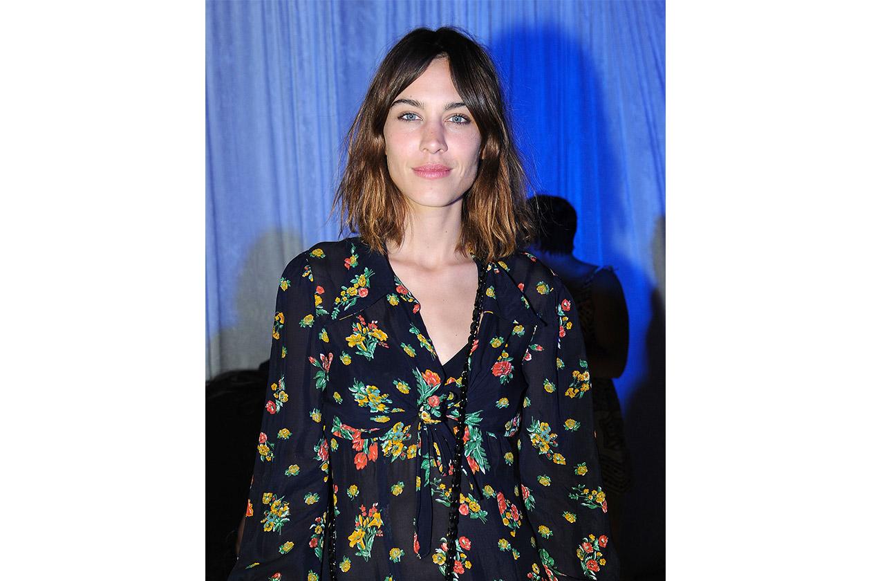 Look capelli Coachella 2015: Alexa Chung