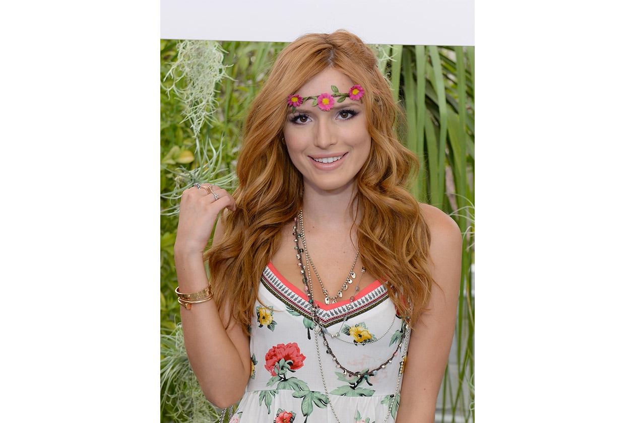 Look capelli Coachella 2015: Bella Thorne Day 1
