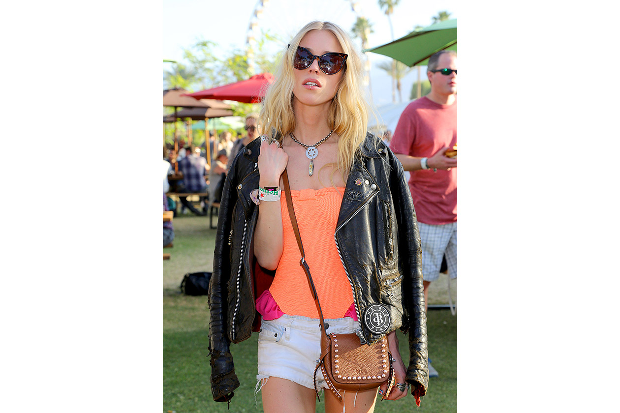 Look capelli Coachella 2015: Mary Charteris
