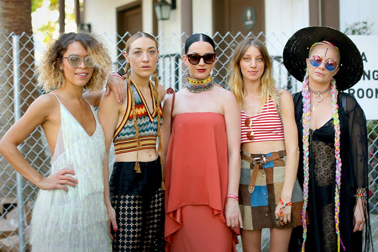 Look capelli Coachella 2015: Mia Moretti e Katy Perry